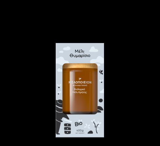 400 gram jar of melopeion thyme honey
